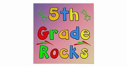 Grade 5th Poster Rocks