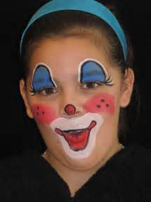 Kids Clown Face Painting