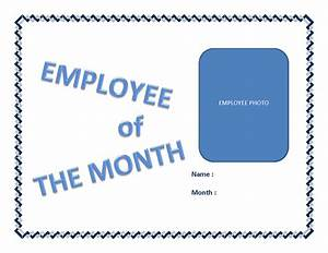 employee of the month certificate template with picture - free employee of the month certificate template