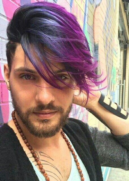 Fantasy Colors For Him Dye Job Dyed Hair Mens Hair