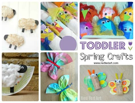 easy crafts for preschoolers and toddlers ted 337 | Spring Crafts for Kids