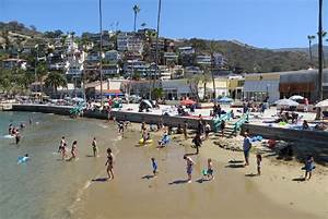 Crescent Beach On Catalina Island Avalon CA California