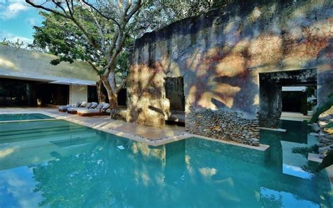 chable resort spa  design boutique hotel chochola mexico