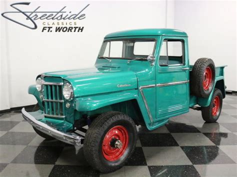 willys jeep truck green expertly restored willys jeep 2 owner texas truck 226 in