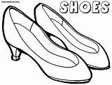 Coloring Sandals Shoe Sandal Jittu Whitesbelfast sketch template