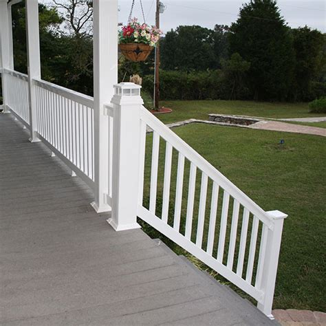 Vinyl Handrails For Decks