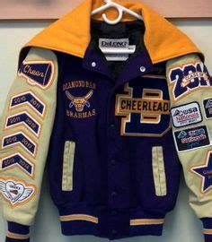 letter jacket patches bling on the letterman jacket time consuming