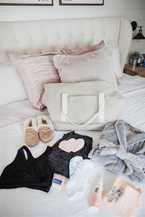 Hospital Bag Checklist What You Really Need Lauren Mcbride