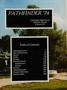 Explore 1974 Oak Ridge High School Yearbook, Orlando FL ...