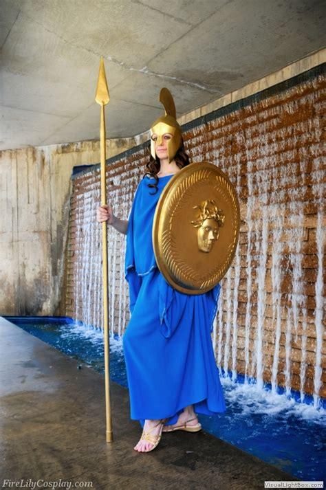 athena costume  greek mythology  home  fire