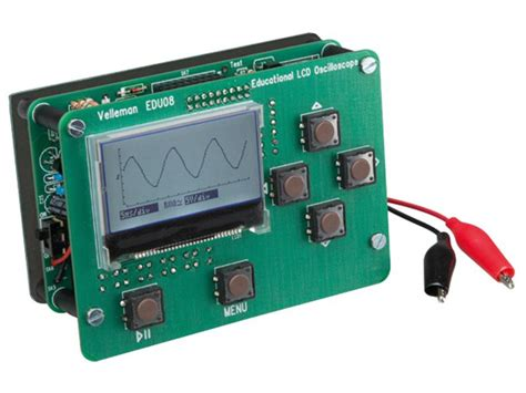 kit electronique a monter kit kit d oscilloscope 233 ducatif afficheur lcd jlelectroniq2