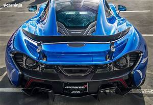 McLaren P1 In Azure Blue Looks Amazing!