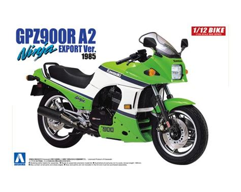 [motorcycle Plastic Model] Kawasaki Gpz 900 R