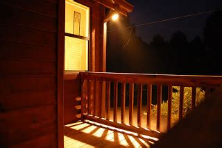 house porch at night nuvoid front porch night