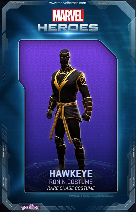 Hawkeye Costumes Marvel Heroes Wiki Fandom Powered