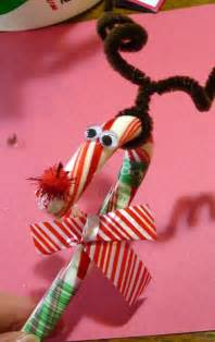 Candy Cane Christmas Craft Ideas for Kids