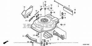 Honda Hrs216k1 Sda Lawn Mower  Usa  Vin  Mzbz
