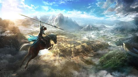 wallpaper dynasty warriors  tokyo game show