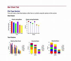 Comparison Stacked Bar Chart Excel Free 4 Sample Bar Chart Templates In Pdf