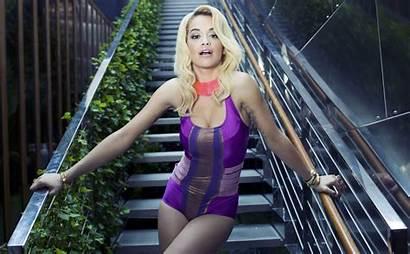 Rita Ora Wallpapers Desktop Swimsuit Photoshoot Victoria