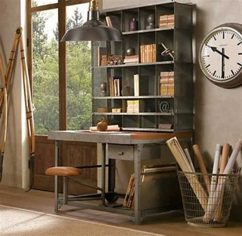 bureau decor 30 modern home office decor ideas in vintage style