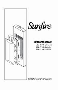 Srs210w-c Manuals