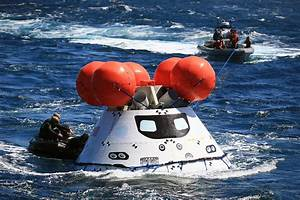 Third Round of Orion Underway Recovery Tests Help Prepare ...