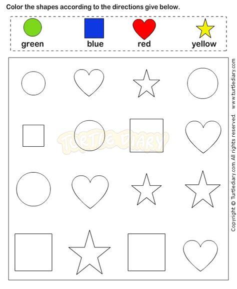 Preschool Worksheets Age 4 Well Portrayal Name Activities Shape Shapes Helendearest