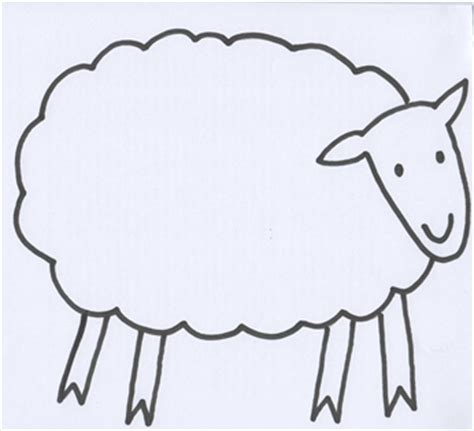 sheep template where is the green sheep learning 4