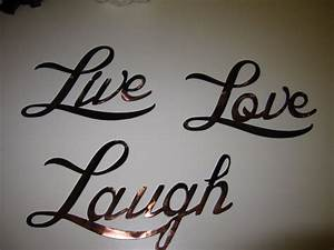 live love laugh words metal wall art by heavensgatemetalwork With live love laugh wall art