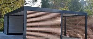 Carport Holz Modern : designo stahl carport carports pinterest rustikal modern gartenschrank und garage ~ Markanthonyermac.com Haus und Dekorationen