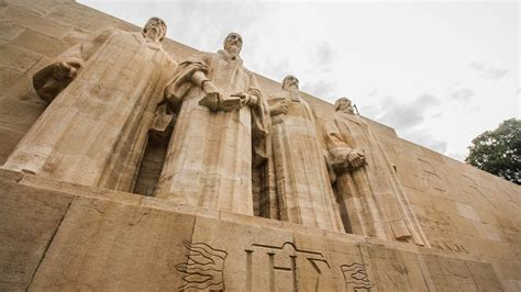 A Tour Of Geneva's Reformation Wall
