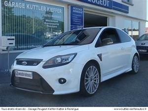 Occasion Ford Focus : ford focus rs occasion ~ Gottalentnigeria.com Avis de Voitures