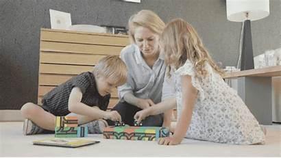 Qbi Toys Toy Child Parent Interaction Block