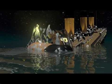 Lego Ship Sinking Titanic by Titanic Death Of A Titan T H Cooney Art Youtube