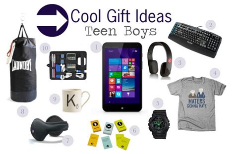 Top 10 Gift Ideas For Teenage Guys - Eskayalitim