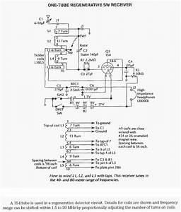 Figure 860   Tube Regenerative Shortwave Radio  With Images