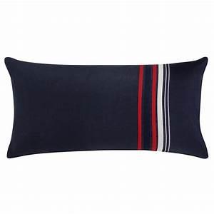 Housse De Coussin Bleu : housse de coussin rectangulaire bleu marine pad concept ~ Dailycaller-alerts.com Idées de Décoration