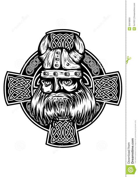 viking  celtic cross royalty  stock images image