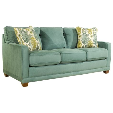 la z boy sleeper sofa la z boy kennedy transitional supreme comfort queen sleep