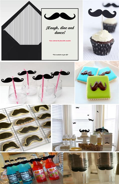 Celebrate Movember And Throw A Mustache Party For A Good