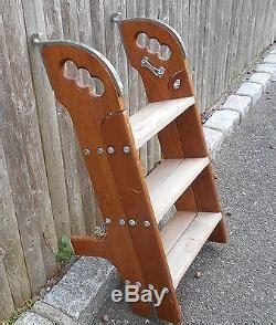 Vintage Boat Ladder by Vintage Teak Boarding Ladder Transom Chris Craft Egg
