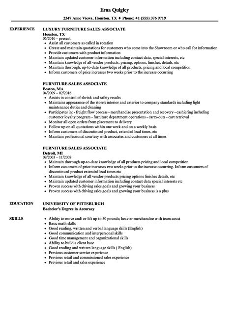 Resume Sles For by Sales Associate Resume Skills Exles How To Write A