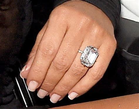 kim kardashian wedding ring value kim k wears 20 carat diamond ring from kanye west at 2016