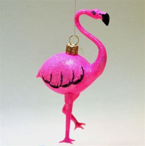 56 best flamingo christmas ornaments images on pinterest