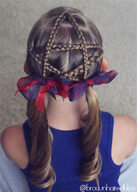 20  4th of July Hairstyles For Kids & Girls 2016   Fourth