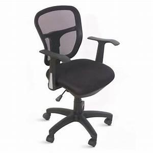 Chaise De Bureau Confortable : chaise de bureau ergonomique et confortable en tissu maille moderne ~ Teatrodelosmanantiales.com Idées de Décoration
