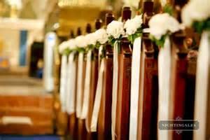pew bows for wedding dekoracja kościoła bajkowe chwile ślubny poradnik