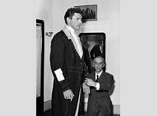 Burt Lancaster at The Tailor in connection with The Movie