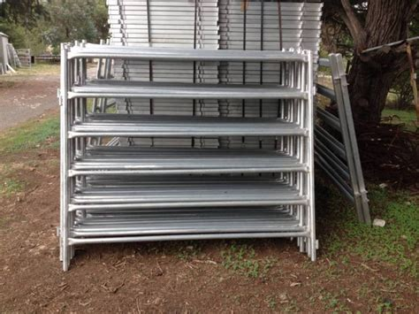 horse fence corral pipe metal portable panel galvanized livestock cattle goat sheep cow factory yak deer etc